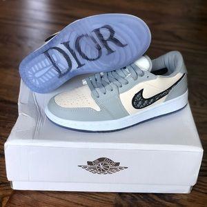 Jordan x Dior 1 low top sneakers